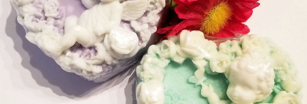 Fragrant Cherub soap bar