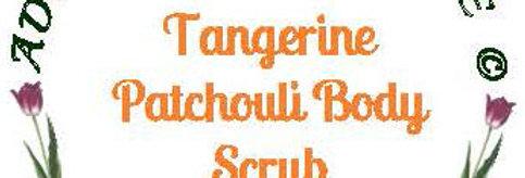 Tangerine patchouli body scrub - 4 oz $5 or 8 oz $8