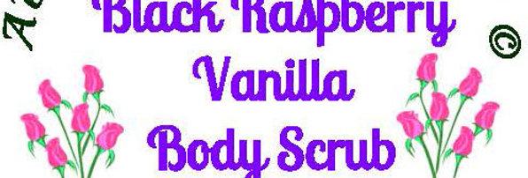 Black Raspberry Vanilla body scrub - 4 oz $5 or 8 oz $8