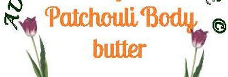 Tangerine patchouli body butter;  4 oz $8 or 8 oz $15