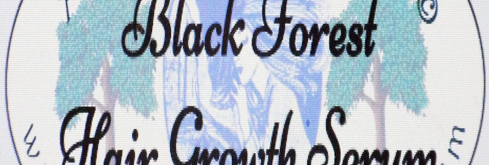 Black forest hair nurturing serum; 1 oz $8 or 2 oz $12