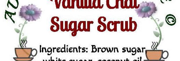 Vanilla chai sugar scrub