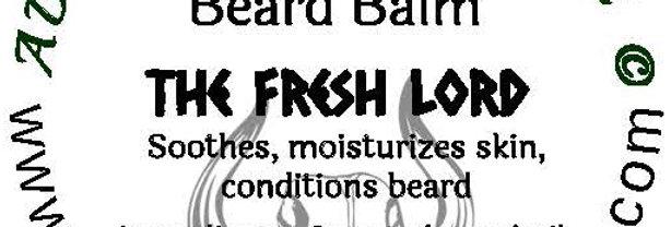 The Fresh Lord beard oil 1 oz $6; 2 oz $10; balm $6