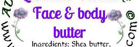 Lavender vanilla body butter; 4 oz $8 or 8 oz $15