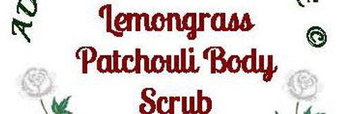 Lemongrass patchouli body scrub - 4 oz $5 or 8 oz $8