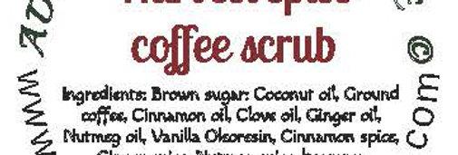 Harvest spice coffee body scrub - 4 oz $5 or 8 oz $8