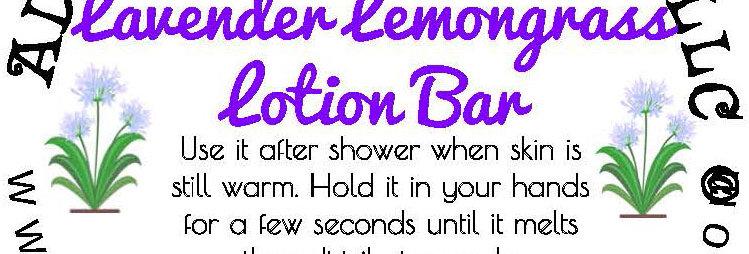 Lavender Lemongrass lotion bar