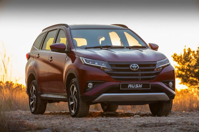 Toyota Rush Media Pack
