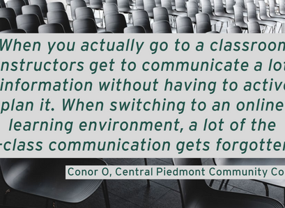 Direct From the Students: Communication is Key!
