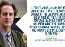 Challenges in Equity and Inclusion for Online Learning: An Interview with Dr. Brett Christie
