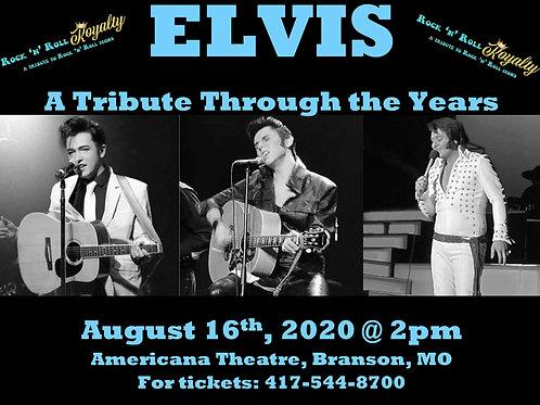 Elvis Tribute DVD