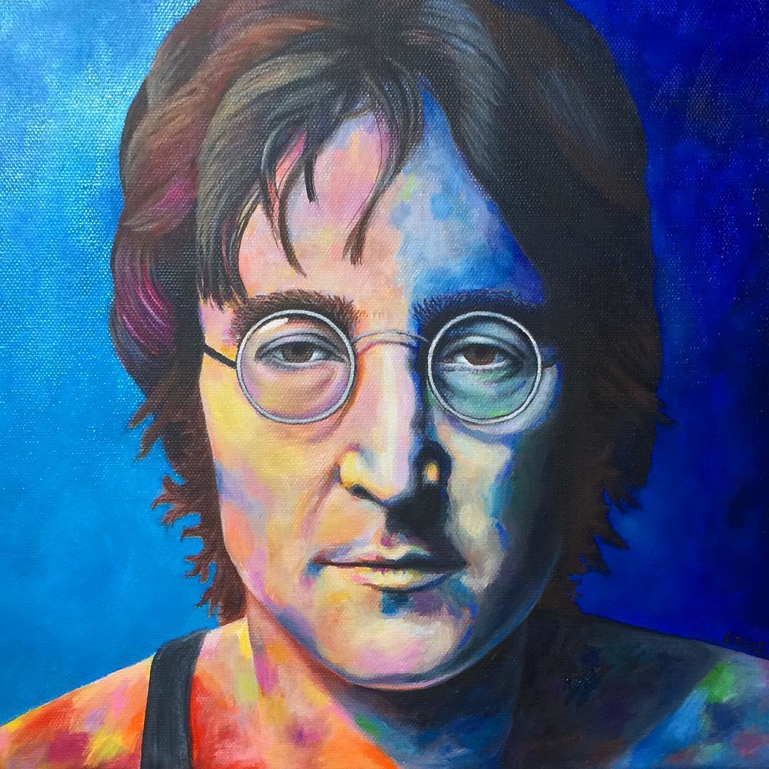 John Lennon by Mariam Paré