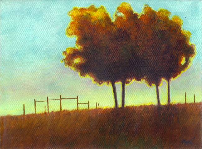 Sundown 6x8 oil