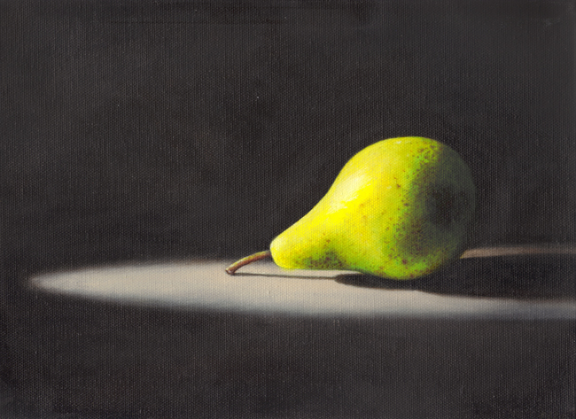 Pear in Shadow oil