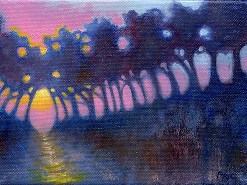 Sunset Silhouette 6x8 oil.jpg