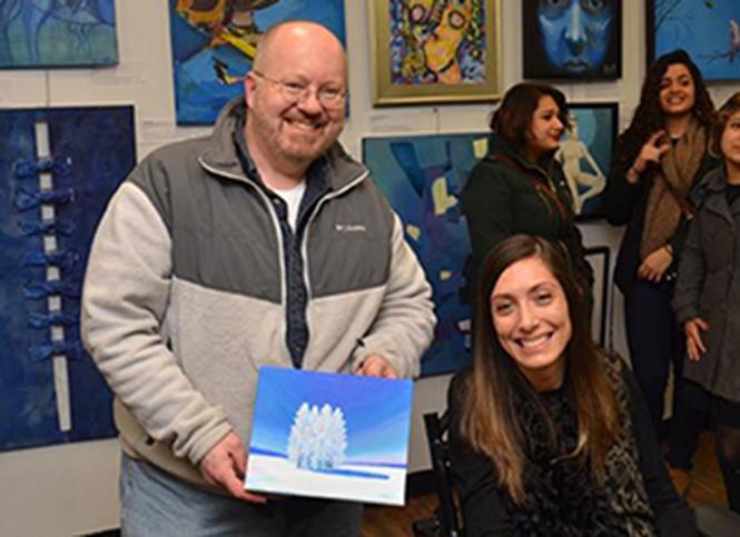 Demo at Arterie Fine Arts Gallery