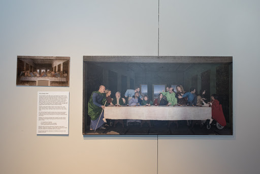 Last supper remake disability awareness