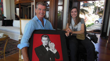Meeting Pierce Brosnan