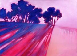 Imaginary landscape 4_ 12 x 16