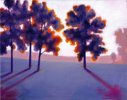 Imaginary landscape 2_ 11 x 14