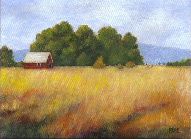Little Country House oil