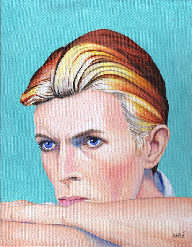 David Bowie by Mariam Paré