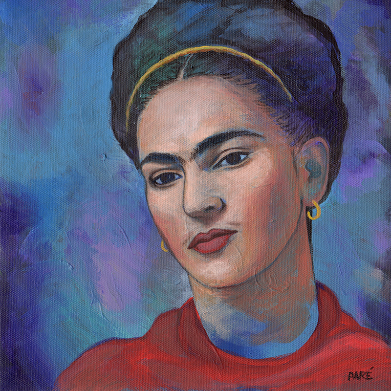 Frida Kahlo by Mariam Paré