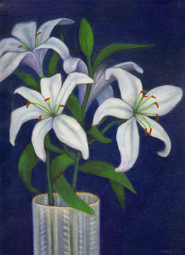Lilies -oil