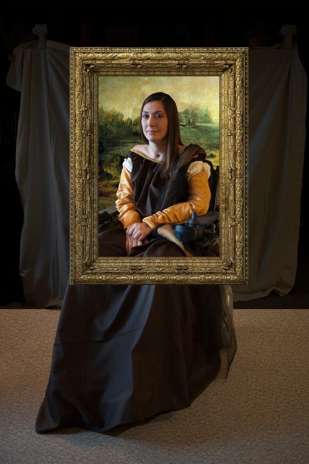 Mona Lisa remake Mariam Paré