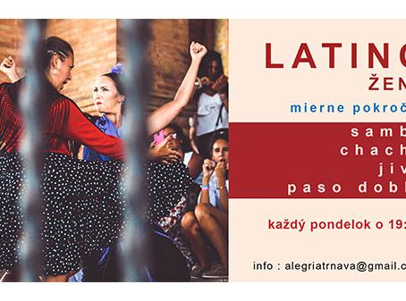 """Kurz """"latino pre ženy"""""""