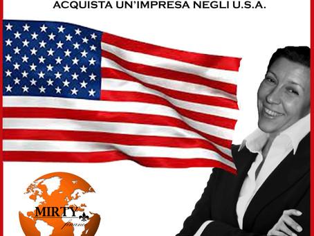CAMBIA VITA: ACQUISTA UN'IMPRESA NEGLI U.S.A.