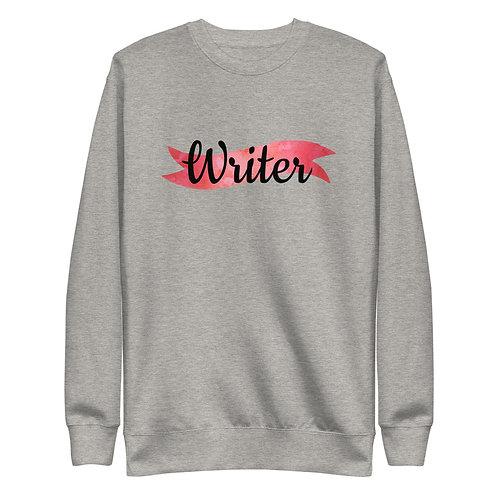 Writer Unisex Fleece Pullover