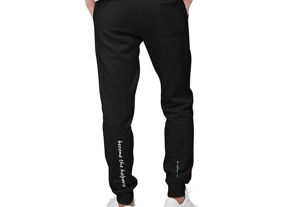 Become The Helper Unisex fleece sweatpants