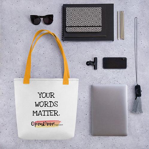 OpenDoor Magazine Tote bag