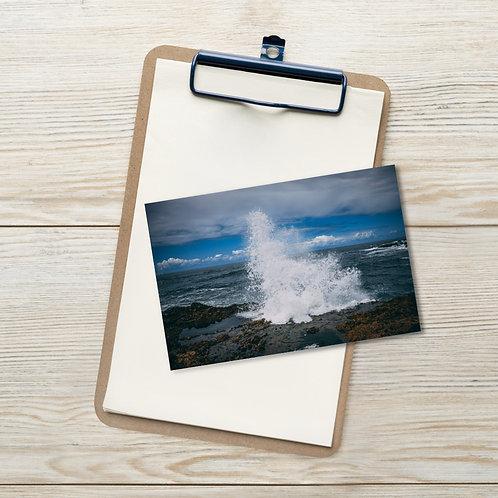 Oregon Wave Postcard