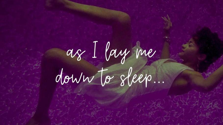 As I Lay Me Down To Sleep...