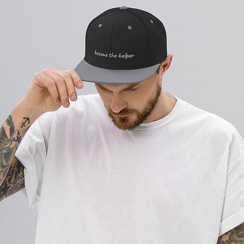 become the helper Snapback Hat