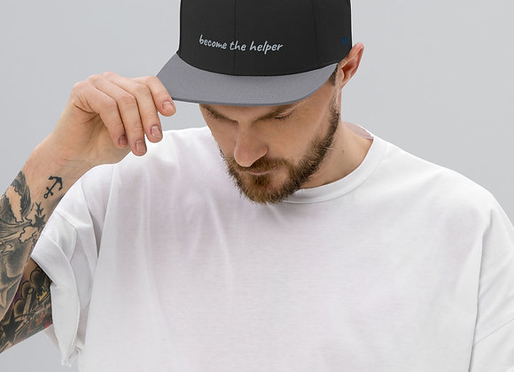 become the helper Snapback Hat