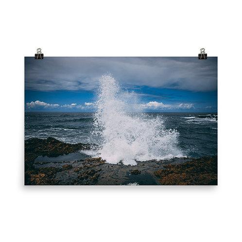 Oregon Wave poster