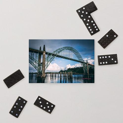 Newport Bridge Standard Postcard