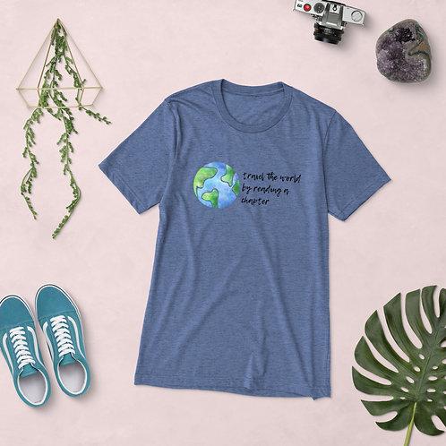 travel the world Short sleeve t-shirt