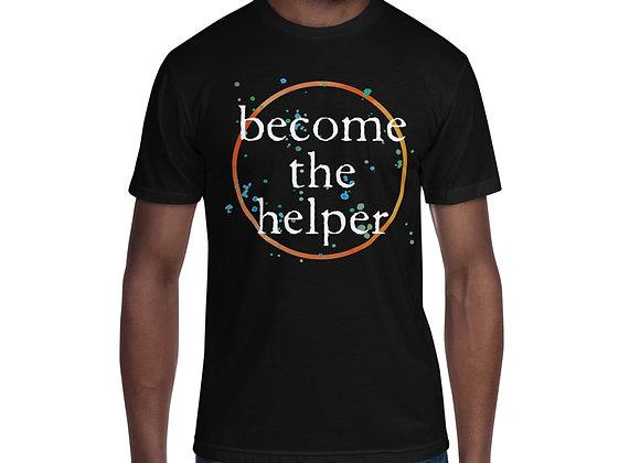 Become The Helper Mens' Crew Neck Tee
