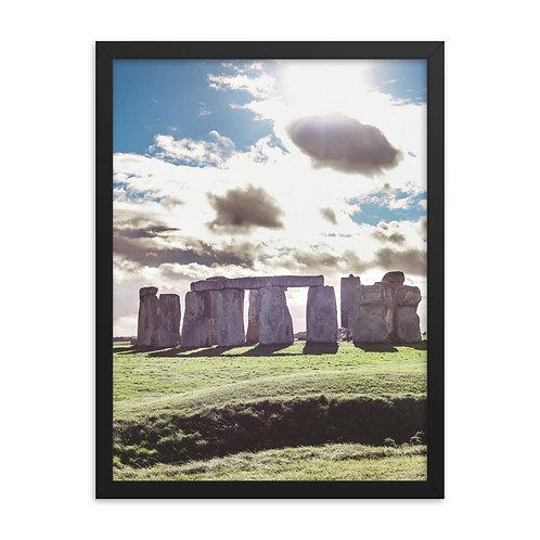 Stonehenge Framed poster