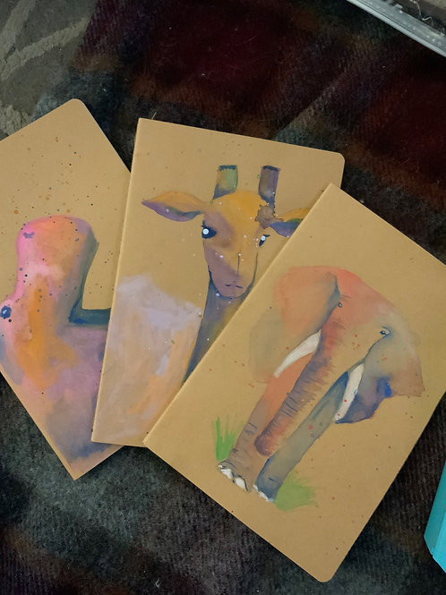 Add On - Custom Hand-Painted Nature Notebook