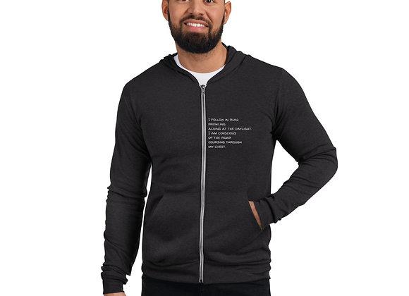 Prowling Unisex zip hoodie