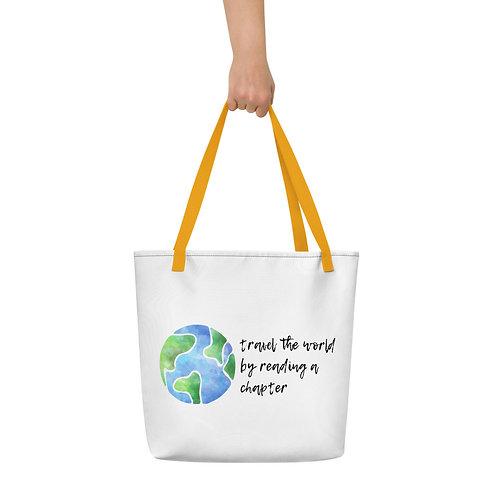 travel the world Beach Bag