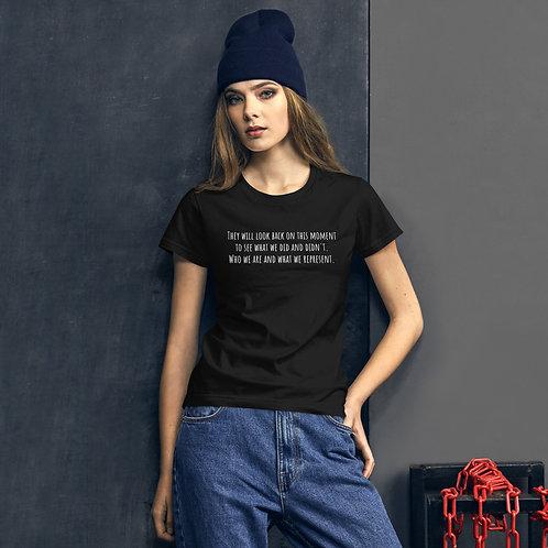"""WE OR ME"" Women's short sleeve t-shirt"