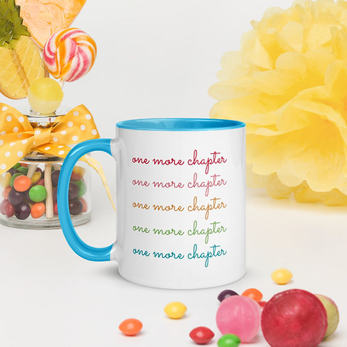 One More Chapter Mug with Color Inside