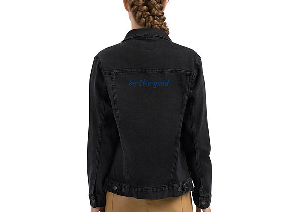 be the good Unisex denim jacket