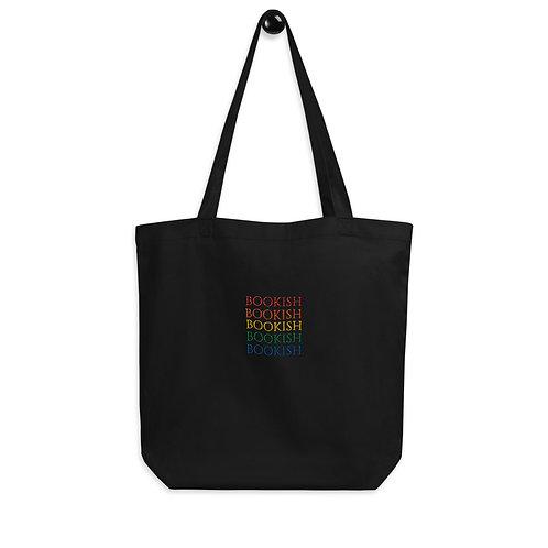 bookish embroidered Eco Tote Bag